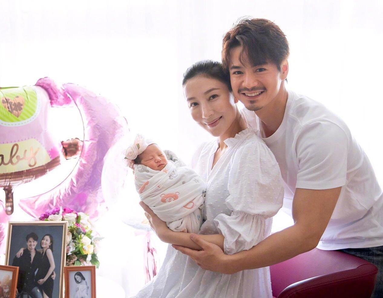 41岁女港星杨怡,顺利诞下一枚千金,可喜可贺